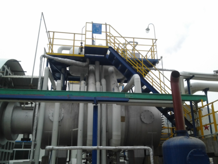 Spent Acid Waste Recovery Boiler